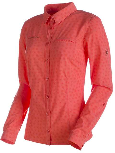 Mammut Trovat Advanced Longsleeve Shirt Women barberry